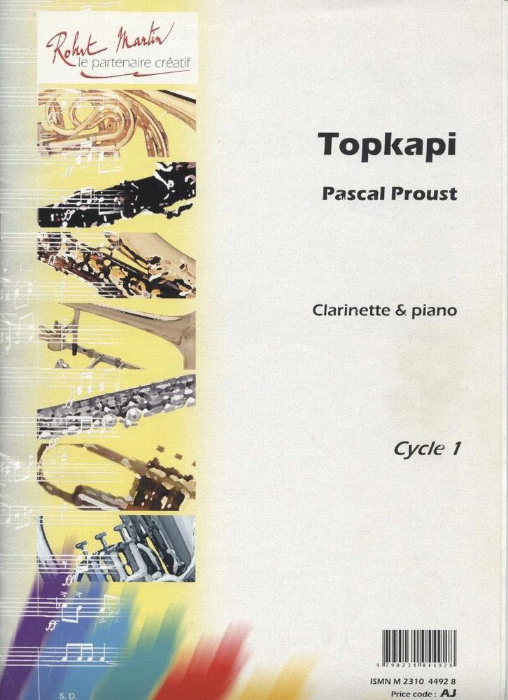 Pascal Proust - Topkapi - Clarinette 12 La Ferté-sous-Jouarre (77)