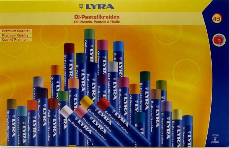 PASTELS à l'huile LYRA 48 22 Brie-Comte-Robert (77)