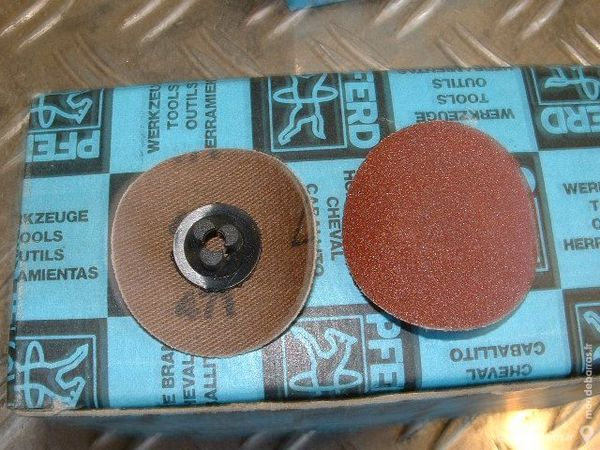 Pastilles abrasives AD 3505-2 A120 PFERD 10 Farschviller (57)
