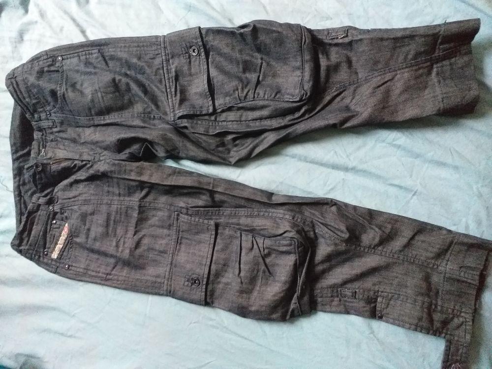 Patalon court en jeans 9 Montreuil (93)