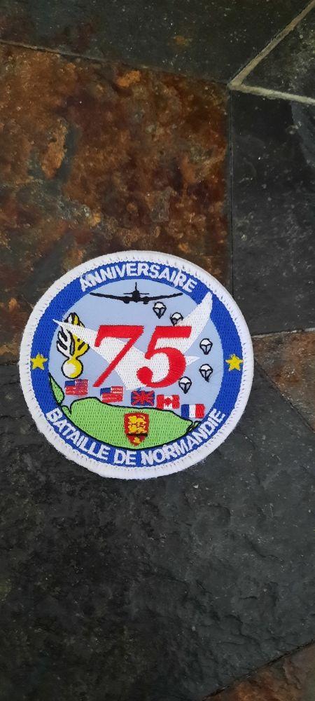 Patch 75e anniversaire DDay 10 Meylan (38)