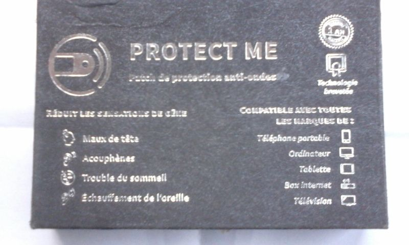 Patch de protection anti-ondes PROTECT ME 12 Malo Les Bains (59)