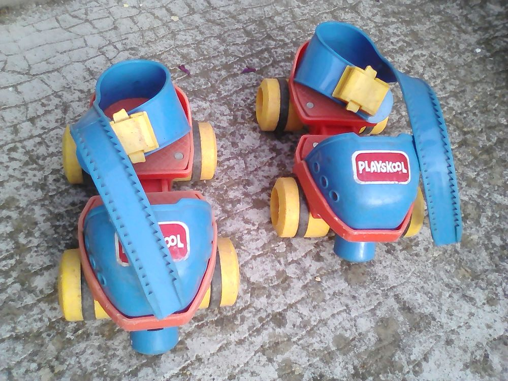 Patins à roulette Playskool occasion 6 Bron (69)