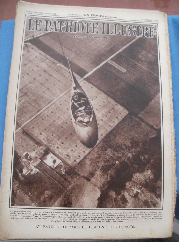 LE PATRIOTE ILLUSTRE n° 51 du 17 décembre 1933 4 Montauban (82)