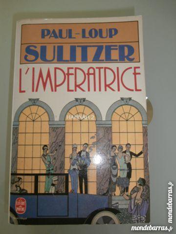 Paul-Loup Sulitzer « L'impératrice» (Hannah 2) Livres et BD