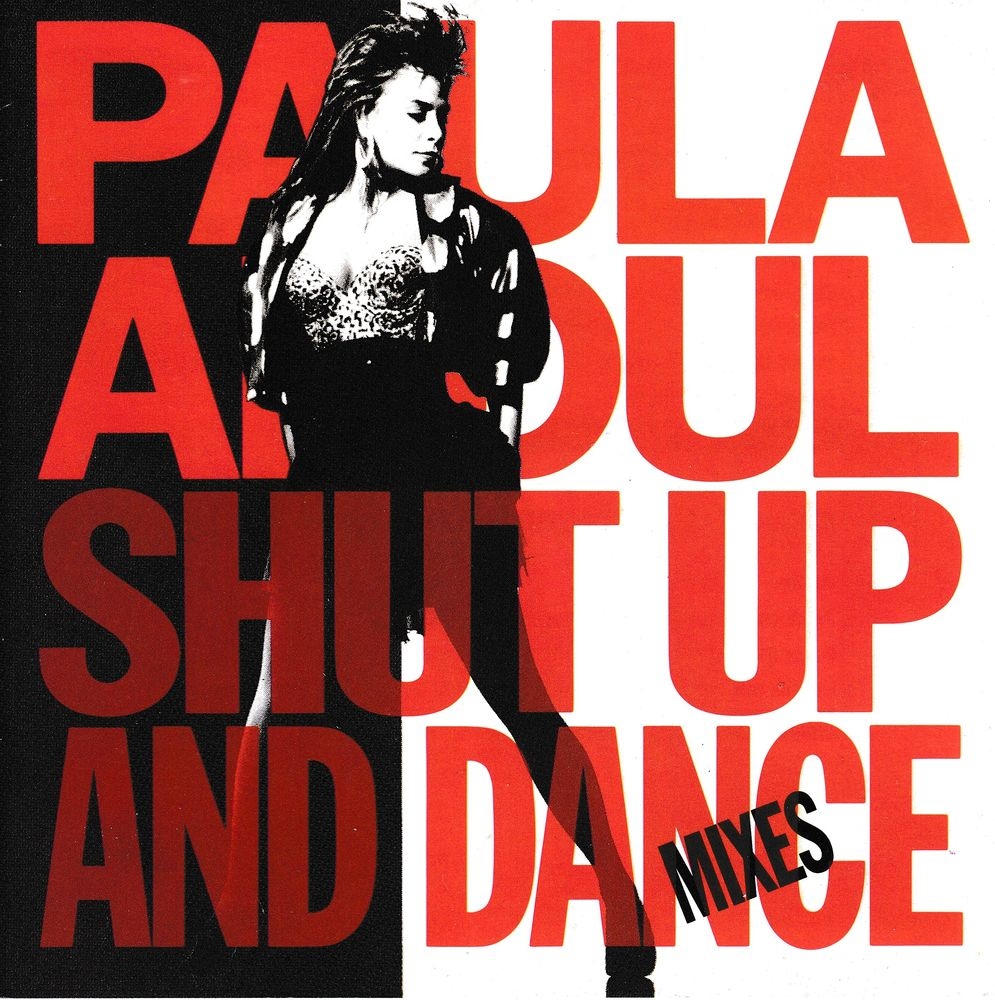 CD    Paula Abdul       Shut Up And Dance -The Dance Mixes 4 Antony (92)