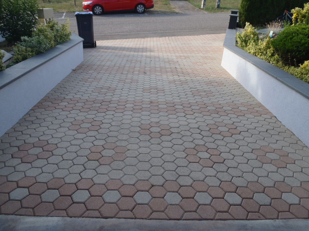Pavé Hexagonale - Dallage - sol 250 Thionville (57)