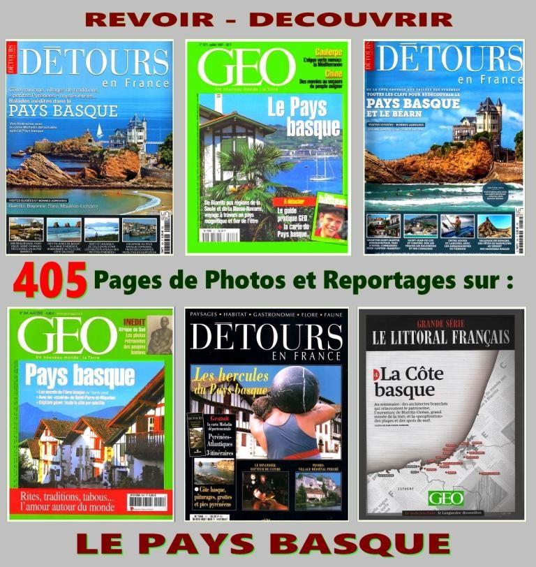 PAYS BASQUE - excursion - BÉARN / prixportcompris 20 Strasbourg (67)