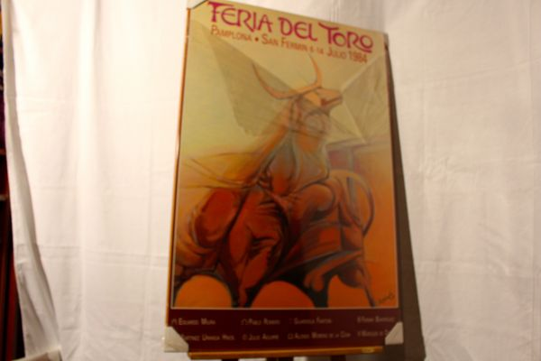 PAYS - BASQUE : PAMPELUNE   FERIA DEL TORO 1984   160 Anglet (64)