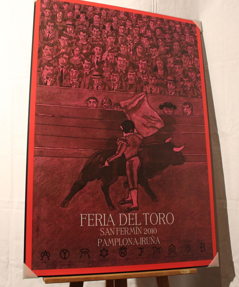 PAYS-BASQUE  : PAMPELUNE FERIA DEL TORO  2010    . 80 Anglet (64)