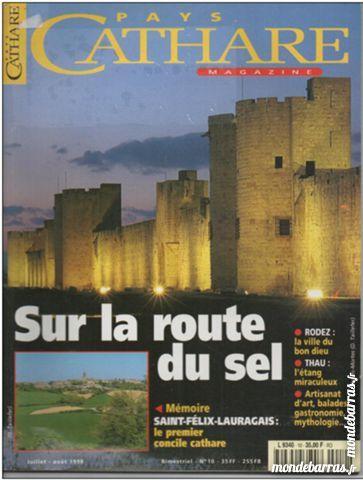 PAYS CATHARE Magazine n° 10 Route du sel 2 Montauban (82)