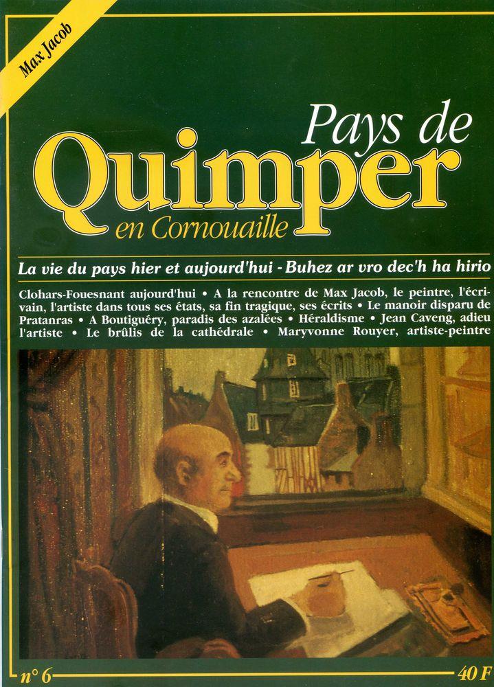 PAYS DE QUIMPER EN CORNOUIALLE N° 6 8 Rennes (35)