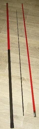 Pêche: canne télescopique pour truite MARKOR Rivabelle 3 mét 13 Versailles (78)