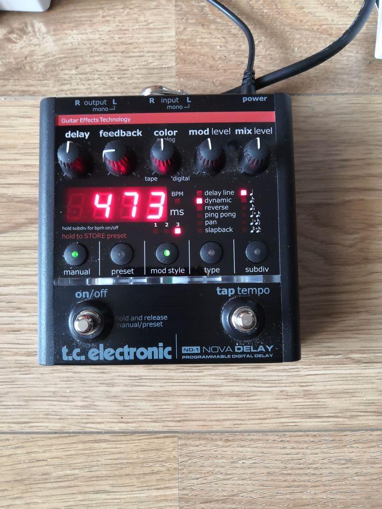 pédale delay TC electronique 185 Annecy (74)