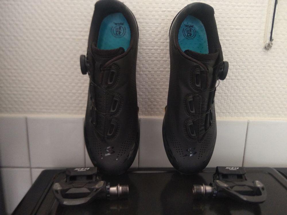 Pédales 105 SPD / Chaussure de route Spiuk Aldama T42 170 Rennes (35)