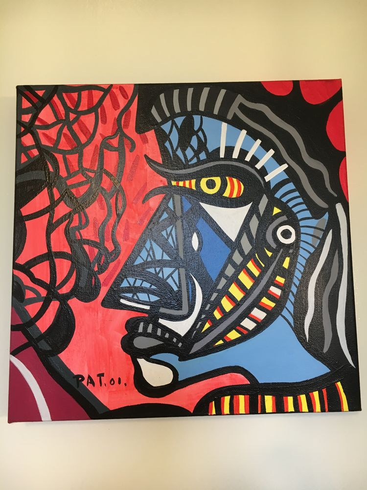 Peinture acrylique 30 Saint-Fargeau (89)