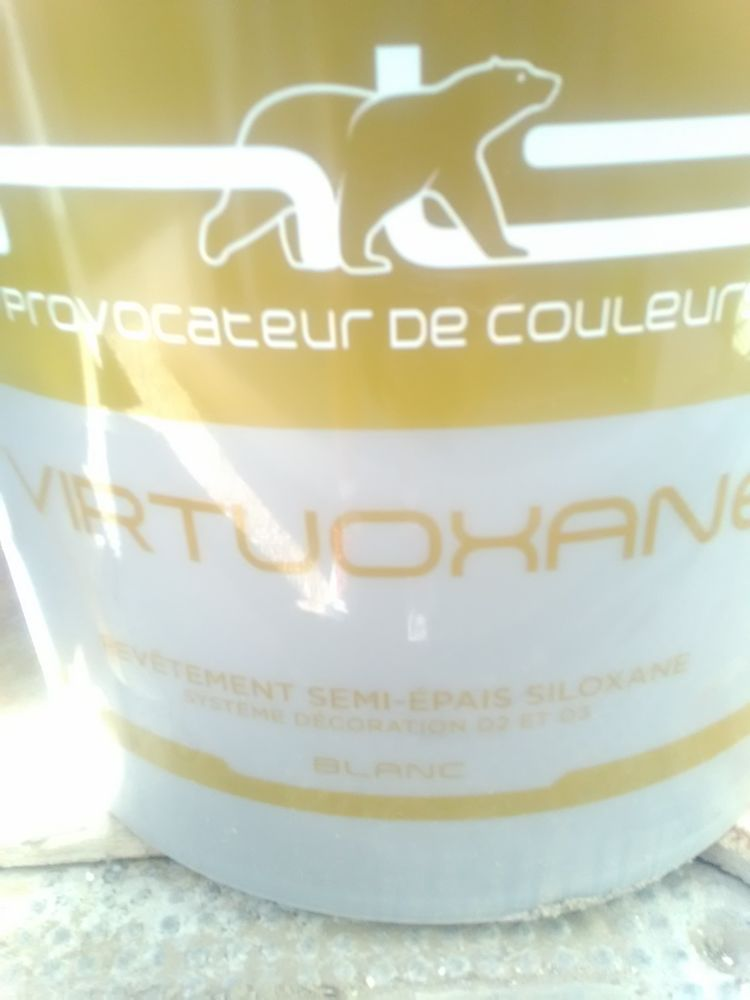 Peinture façade beige crème virtuoxane neuves 45 litres 270 Pia (66)
