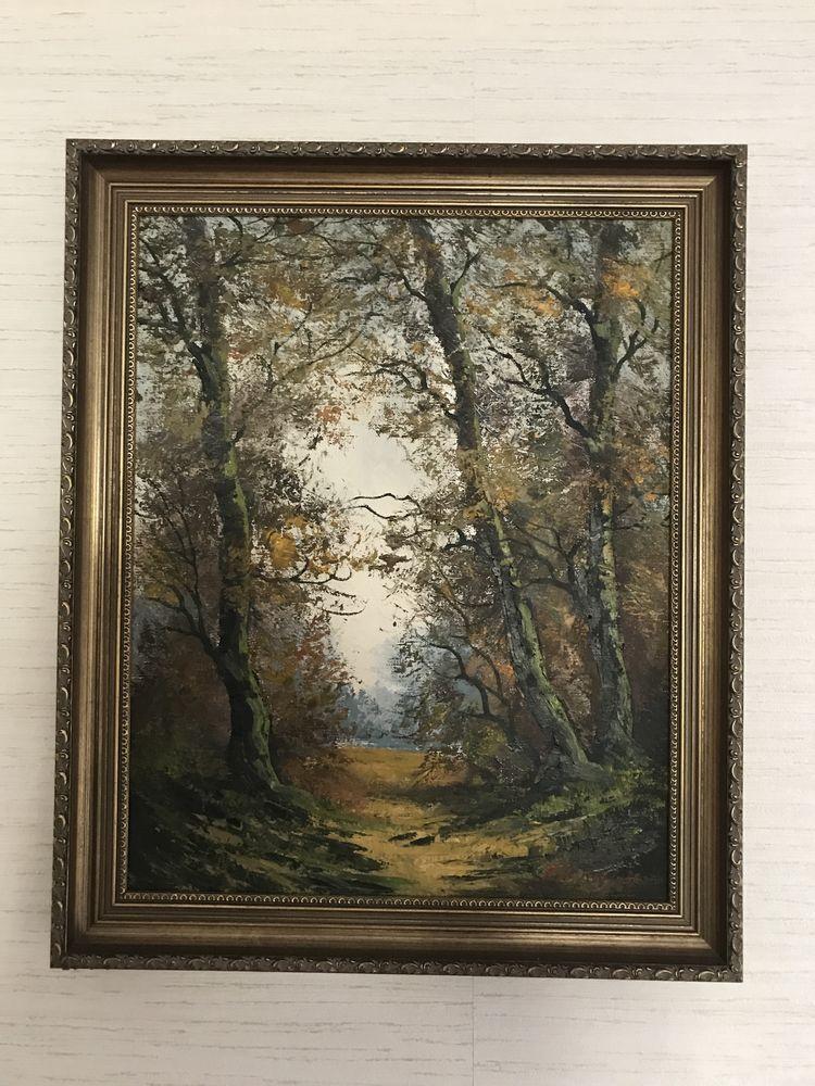 Peinture de FRANKS P. - Nature d'automne 100 Champigny (51)