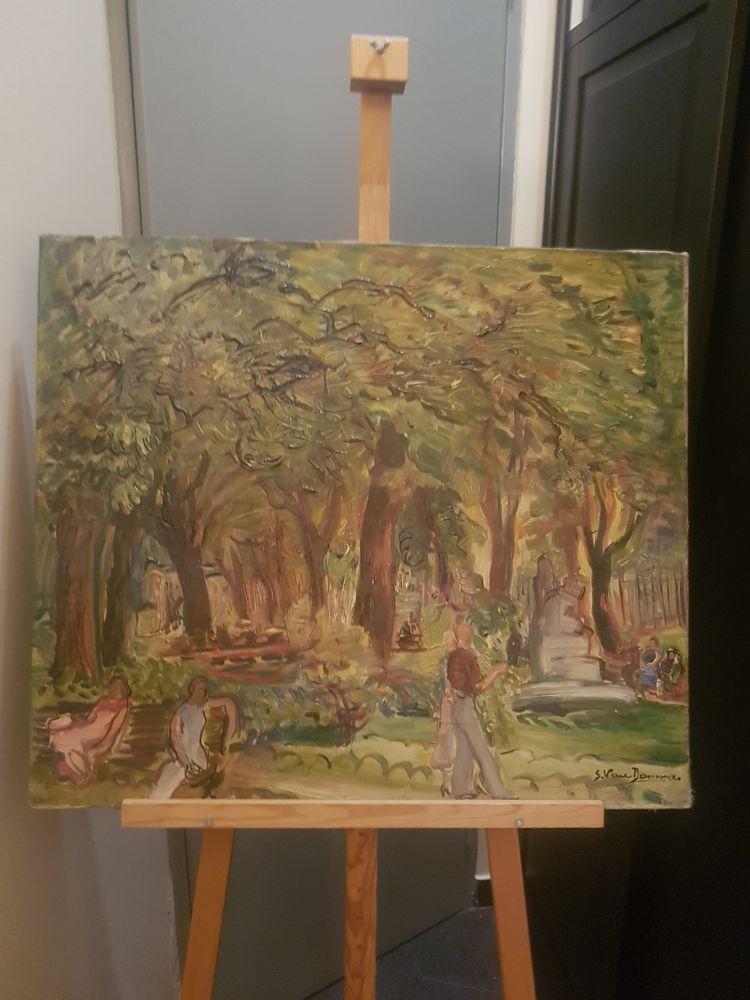 Peinture huile sur toile  800 Paris 17 (75)