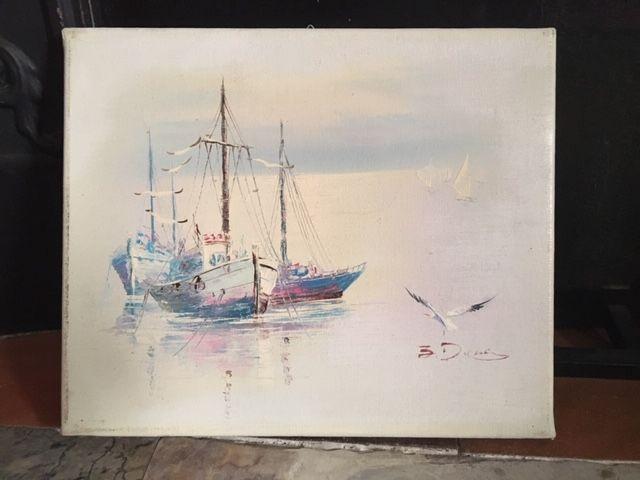 Peinture huile 100 Paris 17 (75)