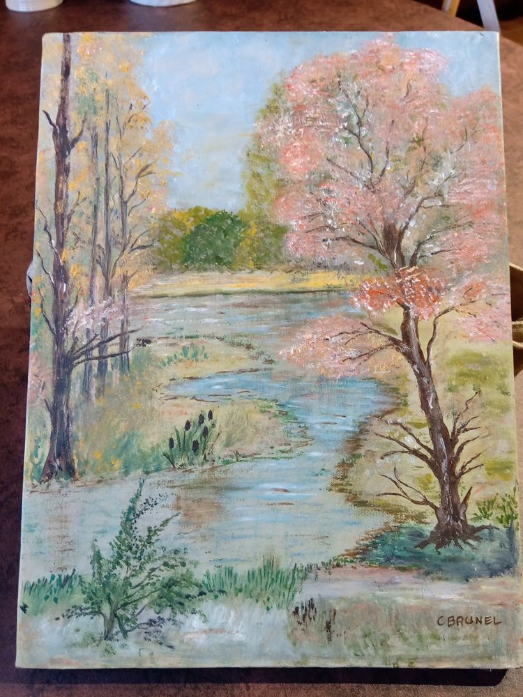 Peinture à l'huile 32 Thou (45)