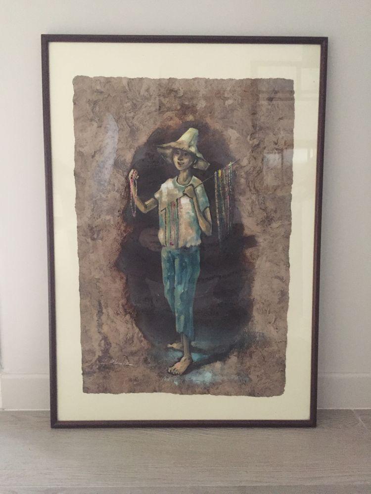 Peinture mexicaine sous verre 20 Chatuzange-le-Goubet (26)