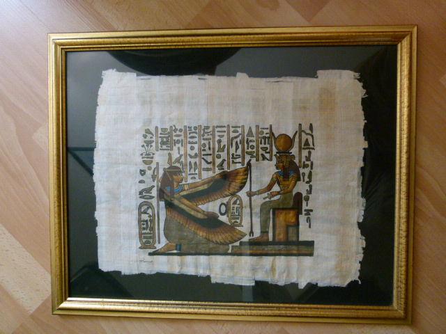 peinture papyrus 10 Montmagny (95)