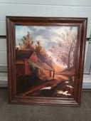 Peinture paysage peinte sur toile 61x71 cm 60 Caluire-et-Cuire (69)