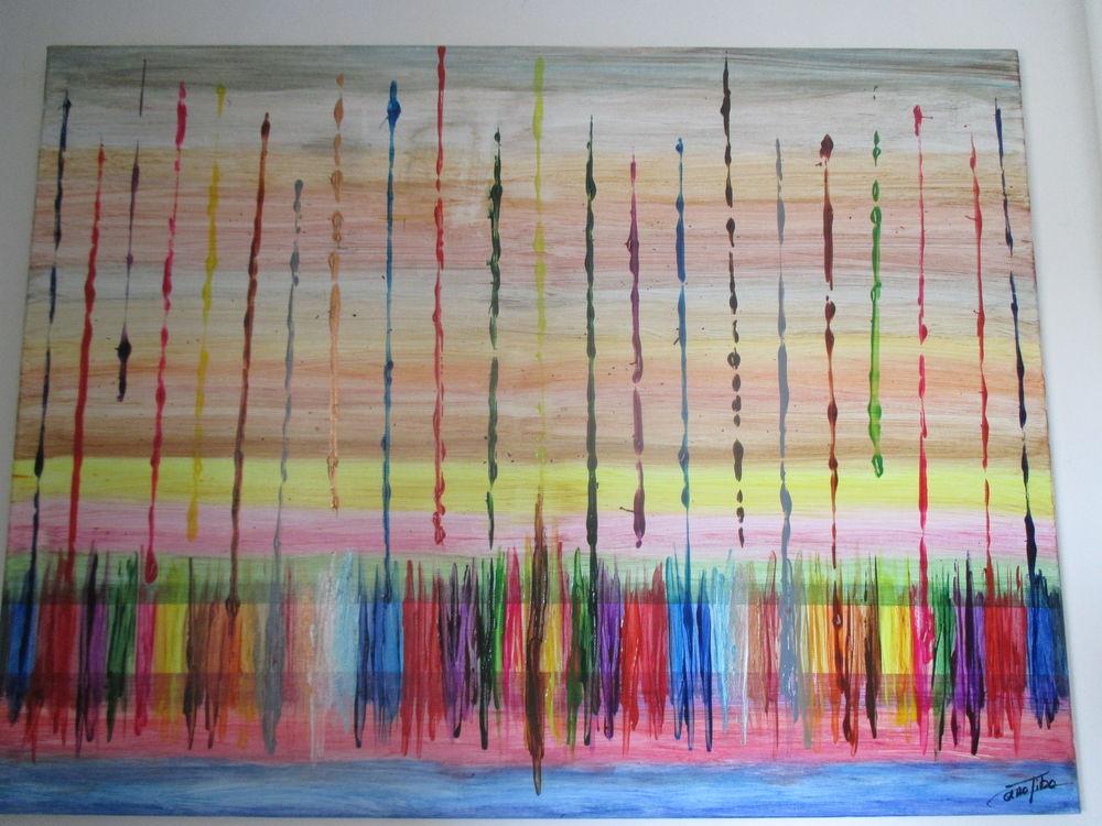 peinture réalisée sur toile par mes soins 50 Anor (59)