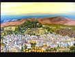 Peinture tableau FORCALQUIER (04 - A.H.P.) Villeneuve (04)