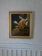 Peinture sur toile avec encadrement