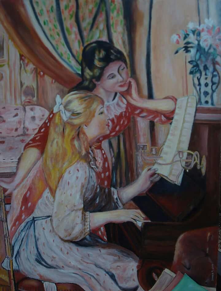 Peinture sur toile fait main 150 Champigny-sur-Marne (94)