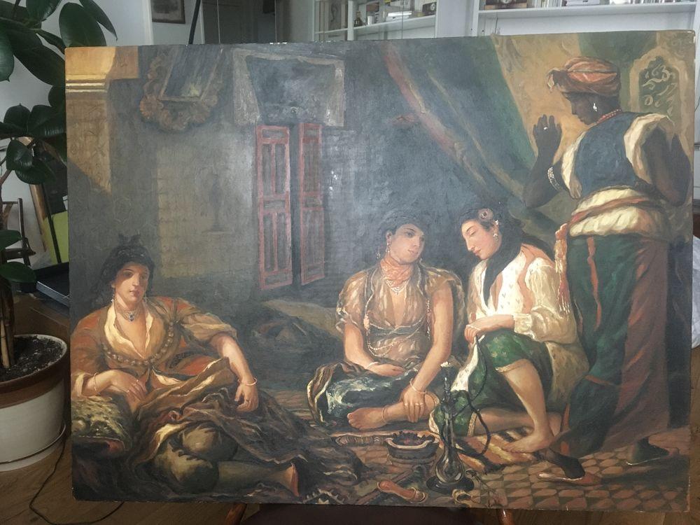 Peinture sur toile /Reproduction Tableau Delacroix 325 Paris 5 (75)
