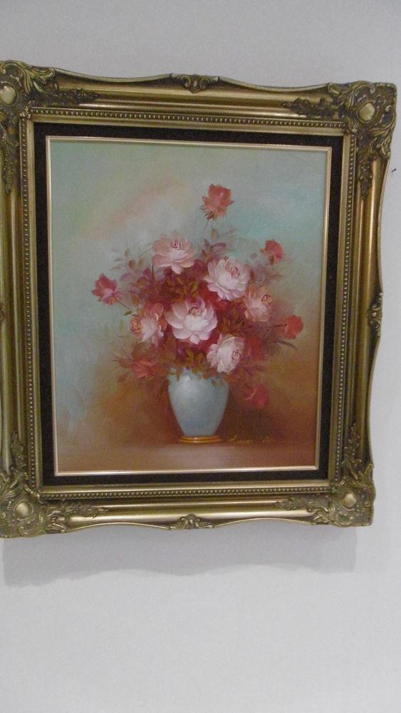 Peinture sur toile 79 x 69 cm 200 Castelginest (31)