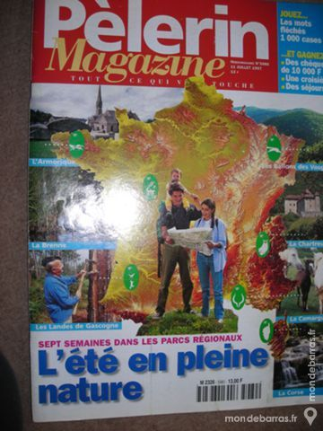 Pèlerin Magazine n°5980 10 Ligné (44)