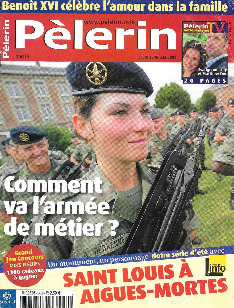 LE PELERIN Magazine n°6450 2006  Harry ROSELMACK 2 Castelnau-sur-Gupie (47)