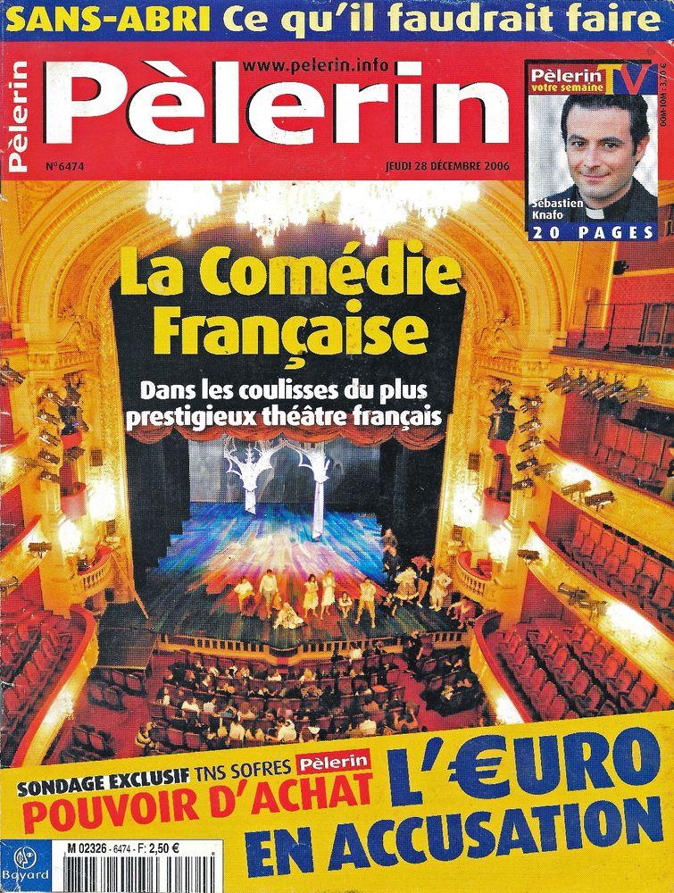 LE PELERIN Magazine n°6474 2006  BARTABAS 2 Castelnau-sur-Gupie (47)