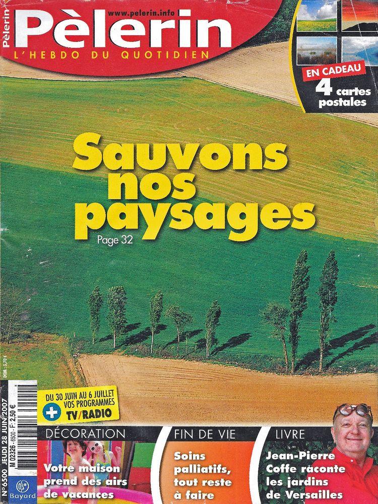 LE PELERIN Magazine n°6500 2007  Jean-Pierre COFFE  2 Castelnau-sur-Gupie (47)