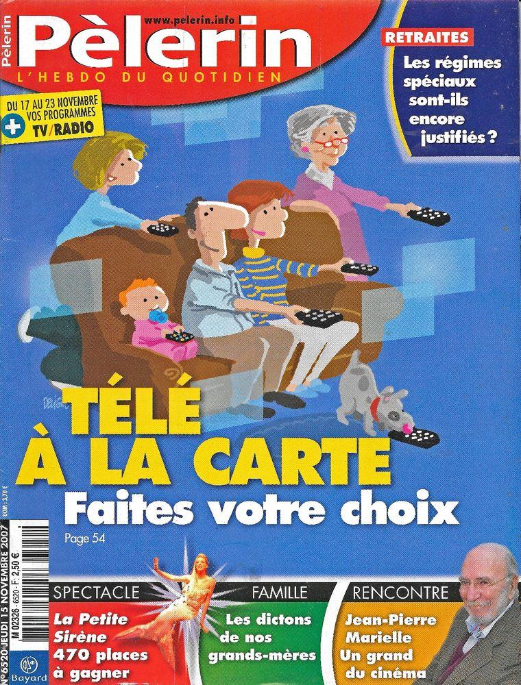 LE PELERIN Magazine n°6520 2007  Jean-Pierre MARIELLE  2 Castelnau-sur-Gupie (47)