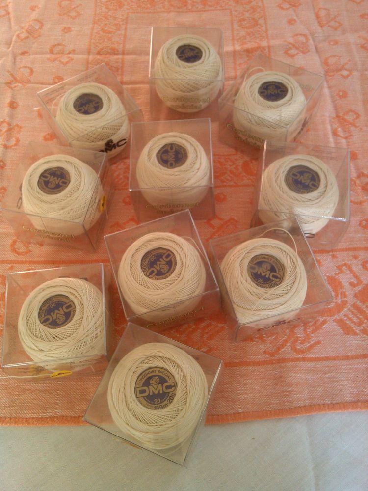 Pelotes de coton DMC Cordonnet Spécial Crochet N° 20 / ÉCRU 22 Saint-Denis (93)