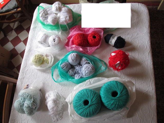 Pelotes de coton et de laine 1 Herblay (95)