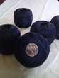 Pelotes de coton perlé DMC N°5 - Bleu Myrtille 823