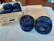 Pelotes de coton perlé DMC N°5 - Bleu Myrtille 823 Sports