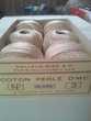 Pelotes de 50g de coton perlé DMC N°3 / ÉCRU naturel Sports