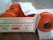 Pelotes de 50g de Coton perlé DMC N°5 / Safran n° 900 Sports