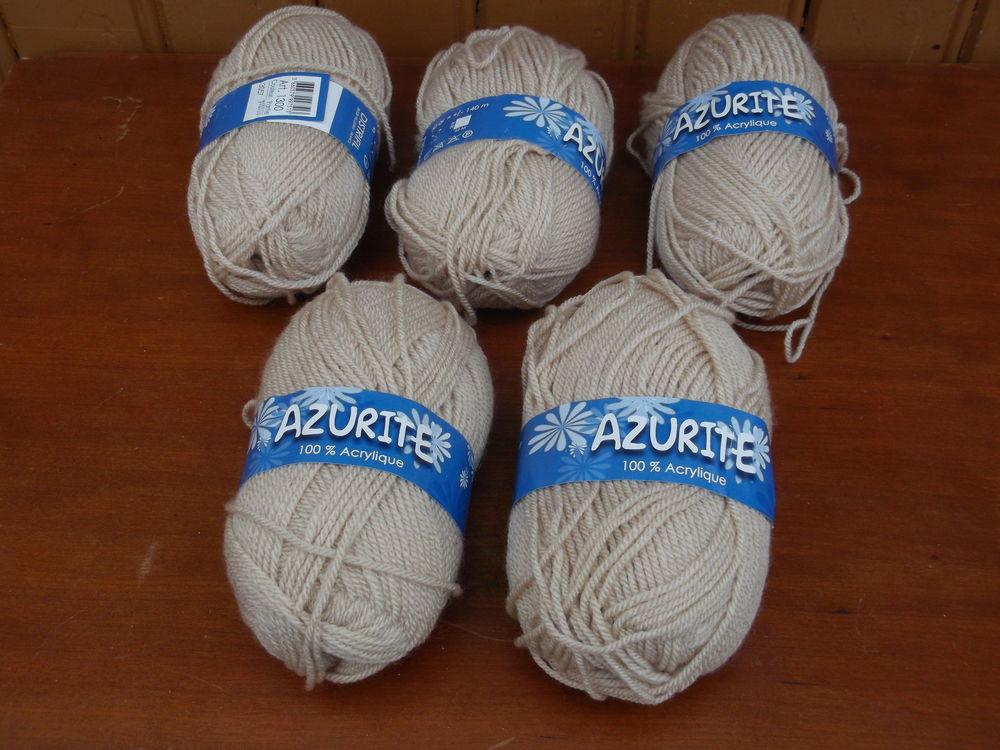5 PELOTES DE LAINE   Azurite   4 Dammarie-les-Lys (77)
