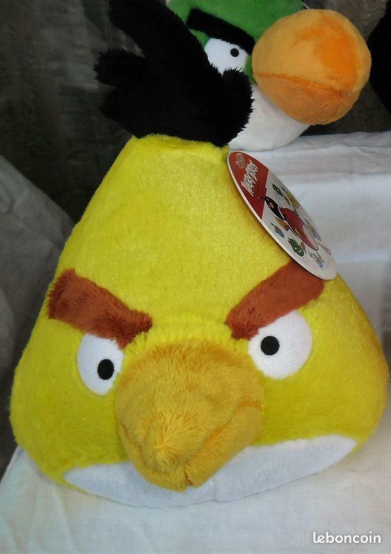 peluche ANGRY BIRD - NEUVE avec étiquette 5 Angers (49)