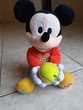 Peluche 'Baby Mickey' Parle & Lance-Balle, Marque Clementoni