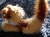 Peluche :  chat couché  5 Nantes (44)