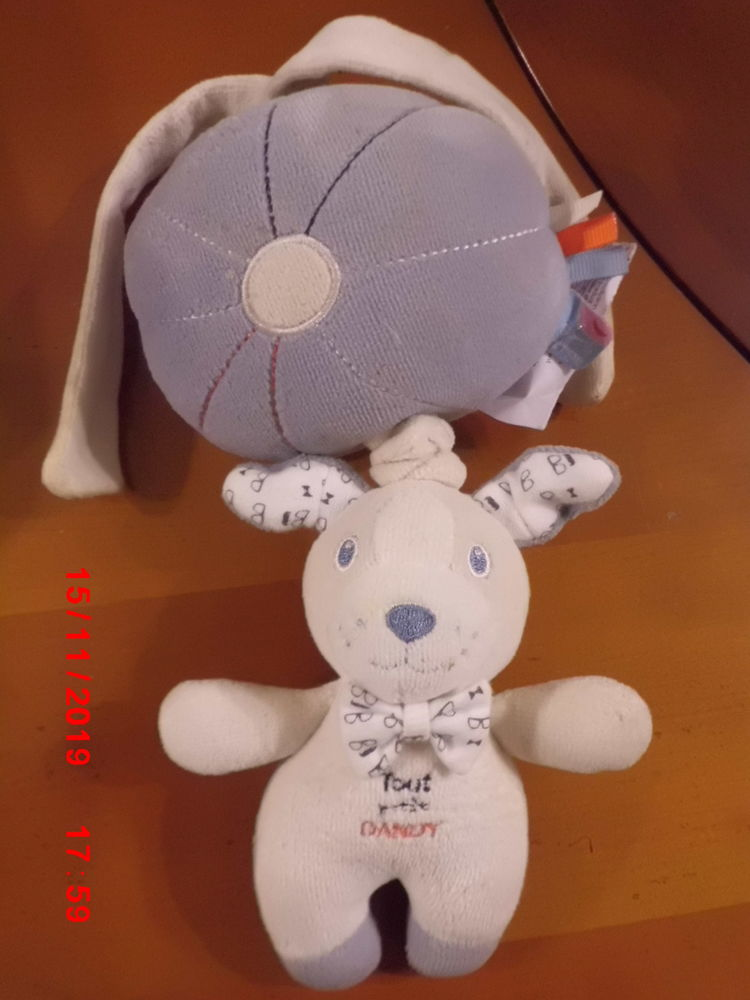 PELUCHE CHIEN MUSICAL SUCRE D ORGE 15 Oignies (62)